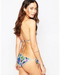 Cia.Marítima Multicolor Laguna Tie Side String Bikini Bottoms