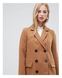 Warehouse Brown – Zweireihiger Mantel