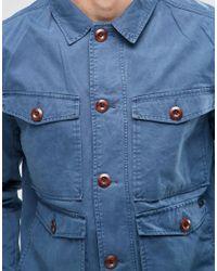 Parka London Blue Kennett Jacket for men