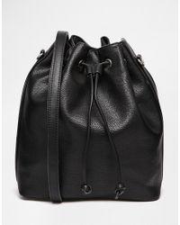 Fiorelli | Black Rossini Drawstring Backpack | Lyst