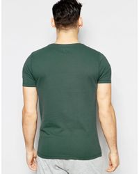ASOS - Loungewear Muscle T-shirt In Green for Men - Lyst