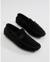 4639af61 Men's Driving Shoes In Black Suede