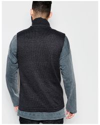 ASOS | Black Knitted Waistcoat for Men | Lyst