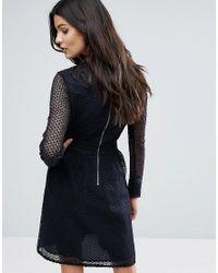 Y.A.S Blue Lace Dress
