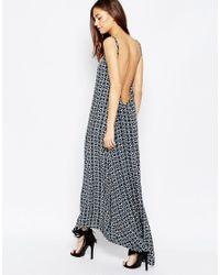 Flynn Skye - Black Scoop Back Maxi Dress In Eclipse - Lyst