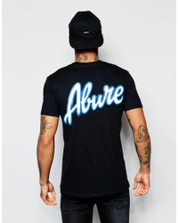 Abuze London - Black Buze London T-shirt Neo Script for Men - Lyst