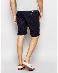 Bellfield Black Chino Shorts for men