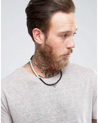 Classics 77 - Black Beaded Bracelet/necklace for Men - Lyst