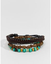 Classics 77 | Multicolor Multi Beaded Bracelet Pack - Multi for Men | Lyst