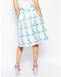Traffic People - Blue Dreaming Of Days Prom Skirt - Lyst