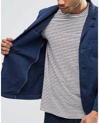 Farah - Blue Dunham Blazer for Men - Lyst