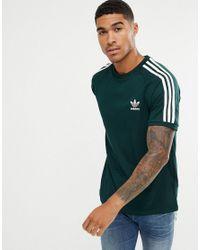 6f88d53980b adidas Originals Adicolor California T-shirt In Green Cz4545 in ...