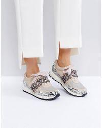 KG by Kurt Geiger Natural Kg By Kurt Geiger Lovely Embellised Sneakers