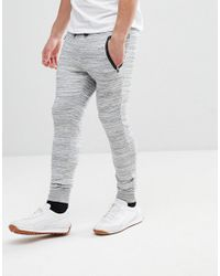 Only & Sons - Gray Joggers With Technical Pockets for Men - Lyst