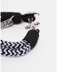 Icon Brand - Blue Captain Flint Anchor Bracelet for Men - Lyst