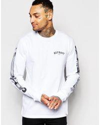 Carhartt WIP | White X Mahogani Music Long Sleeve T-shirt for Men | Lyst