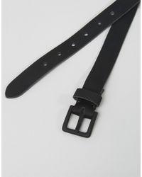 Minimum - Black Skinny Leather Belt for Men - Lyst