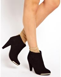 ASOS Black Ambush Ankle Boots
