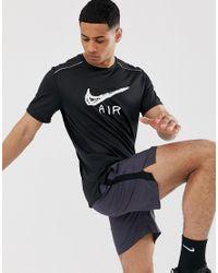 Miler - T-shirt à logo - Noir Nike pour homme en coloris Black