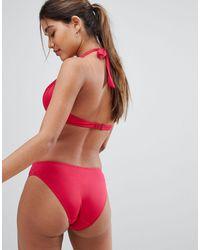 DORINA Red Hipster Bikini Bottom