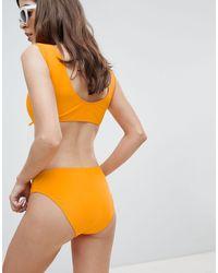 Slip bikini di Vero Moda in Orange