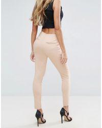 ASOS | Multicolor High Waist Pants In Skinny Fit | Lyst