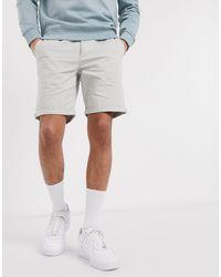 New Look – e Chino-Shorts in Gray für Herren