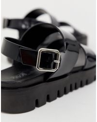 Fadey - Sandali bassi e robusti di ASOS in Black