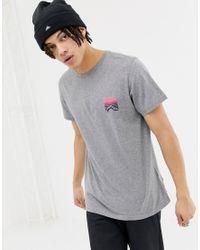 Caputo - T-shirt imprimé dans le dos - Gris chiné Penfield pour homme en coloris Gray