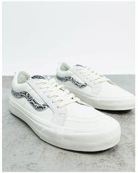 Белые Низкие Кеды Со Змеиным Принтом Ua Reissue Old Skool-белый Vans, цвет: White