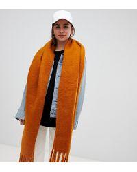 Écharpe oversize - Rouille Weekday en coloris Brown