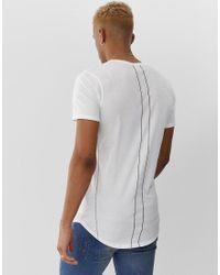 T-shirt à imprimé tête de mort avec oiseaux Religion pour homme en coloris White