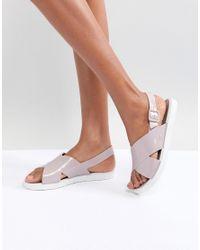 Zaxy Natural Match Flat Sandal