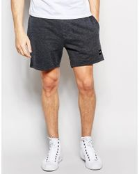 Only & Sons - Black Jersey Short Shorts for Men - Lyst