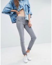 DIESEL | Blue Livier Low Waist Super Skinny | Lyst