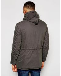 Native Youth - Brown Hooded Explorer Jacket for Men - Lyst