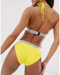 Желтые Плавки Бикини С Логотипом -желтый Calvin Klein, цвет: Yellow