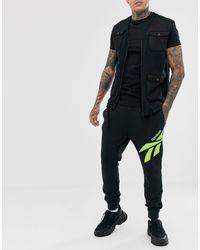 Reebok Black Sweatpants for men