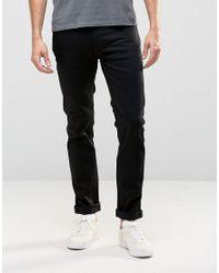 Nudie Jeans | Nudie Thin Finn Slim Jeans Dry Cold Black for Men | Lyst
