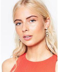 Krystal - Swarovski Crystal Lace Drop Earrings - White - Lyst
