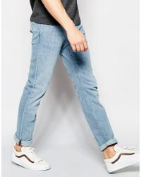 Weekday Blue Wednesday Slim Jeans In Stretch Fun Light Wash for men