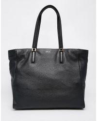 Calvin Klein Black Shopper Tote Bag
