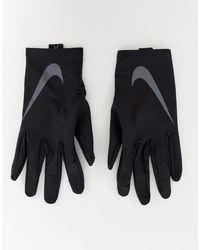 Running - Gants Nike pour homme en coloris Black