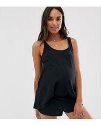 Mix & Match - Canotta del pigiama di ASOS in Black