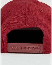 Nike Futura Snapback Cap In Red 584169-674 for men