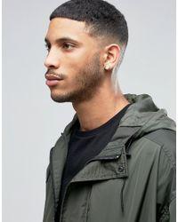 ASOS - Multicolor Semi Precious Look Plug Earrings In Stone for Men - Lyst