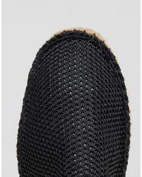 ASOS | Espadrilles In Black Mesh for Men | Lyst
