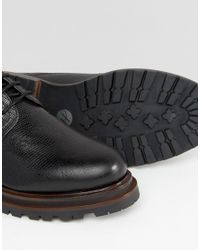 H by Hudson - Black H By Hudson Hollin Lace Up Shoes for Men - Lyst