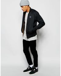 Adidas Originals - Black Superstar Jacket Aj7849 for Men - Lyst