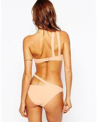 ASOS - Multicolor One Strap Bikini Bottom - Lyst